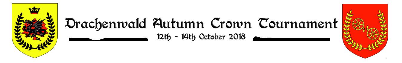 Drachenwald Autumn Crown Tourney 2018